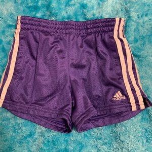 blue adidas sport shorts